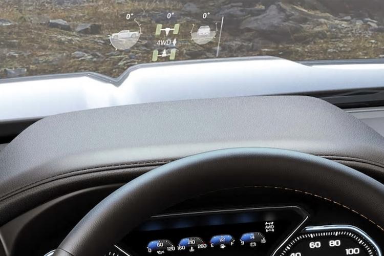 parabrisas inteligente GMC Sierra 2020
