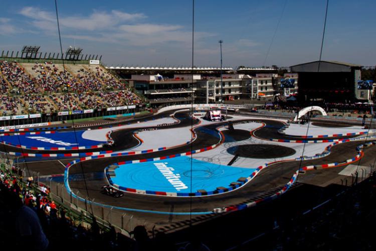 pista de carrera Race of Champions 2019
