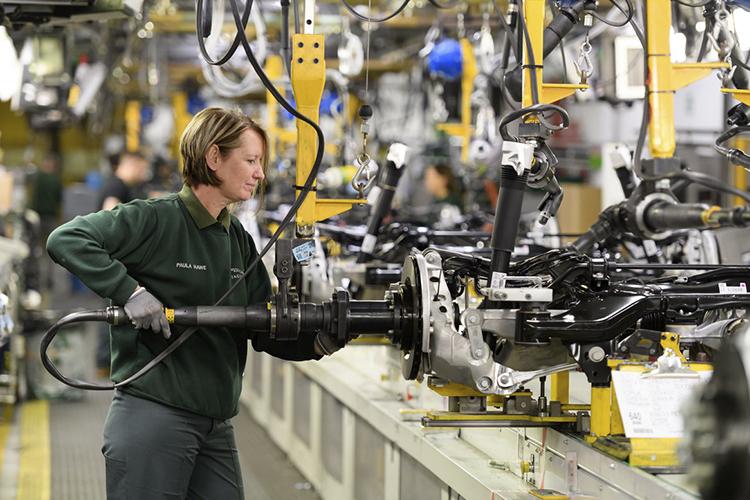 planta Castle Bromwich en Reino Unido Jaguar XJ eléctrico