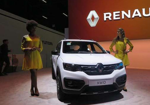 presentacion de vehiculos SUV renault