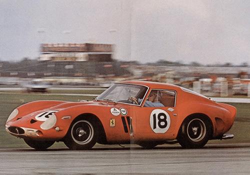 ricardo rodriguez ferrari 250 GTO 1962