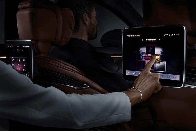 Mercedes-Benz Clase S 2021 reconocimiento de voz