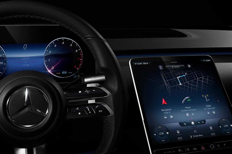 Mercedes-Benz Clase S 2021 sin botones