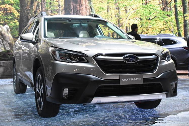 subaru outback 2020 presentada en Auto Show de Nueva York