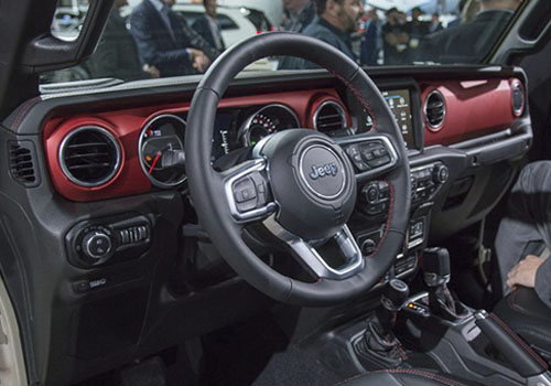 tablero jeep gladiator 2020