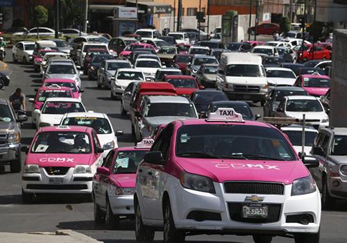 taxi ciudad de mexico