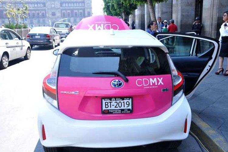 taxis Ciudad de México septiembre 2019