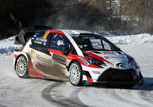 toyota en Monte Carlo WRC 2019