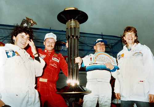 trofeo del primer race of champions 1988