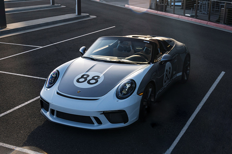 ultimo Porsche 911 991 Speedster ahora a subasta