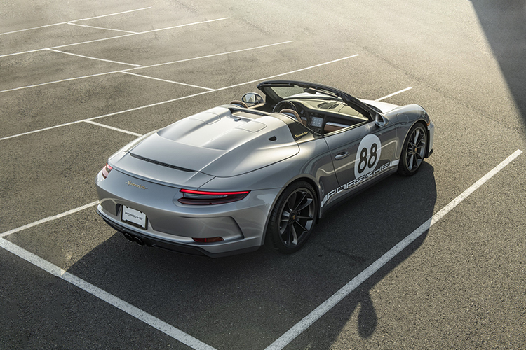 ultimo Porsche 911 991 Speedster carrocería