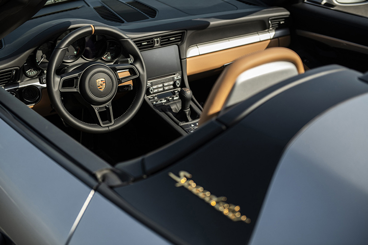 ultimo Porsche 911 991 Speedster edicion limitada