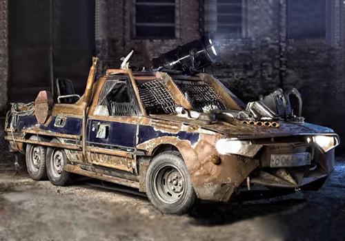 vehiculo modificado roman nitikin