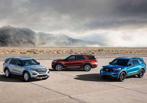 vehiculos suv de ford 4 versiones