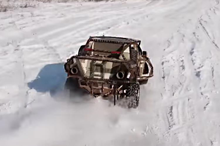 vehiculos inusuales apocalipticos