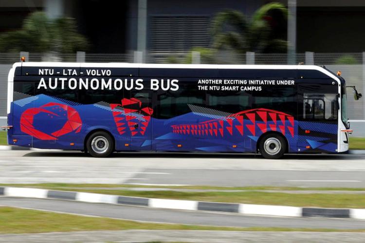 volvo autobus vehiculo totalmente autonomo y electrico