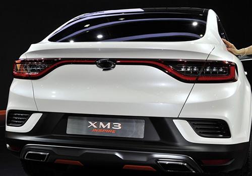 xm3 inspire, SUV para Corea del Sur